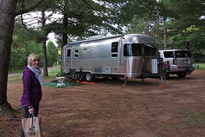Spacious RV Campsites